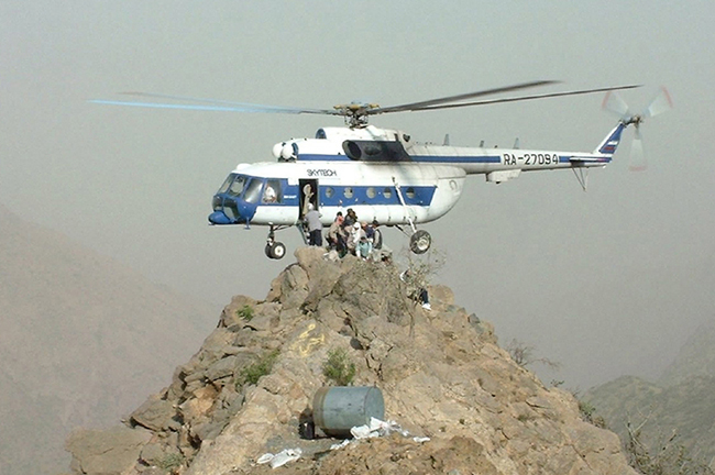 Вертолет Ми-8 - самый